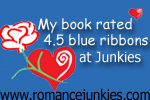 4.5 Blue Ribbons at Romance Junkies
